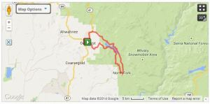 36 miles to Bass Lake 2