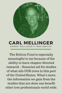 Britton Fund testimonial Carl